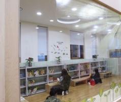 체육관 바닥 마루 시공 우드 플로링 도서관 공사.JPG